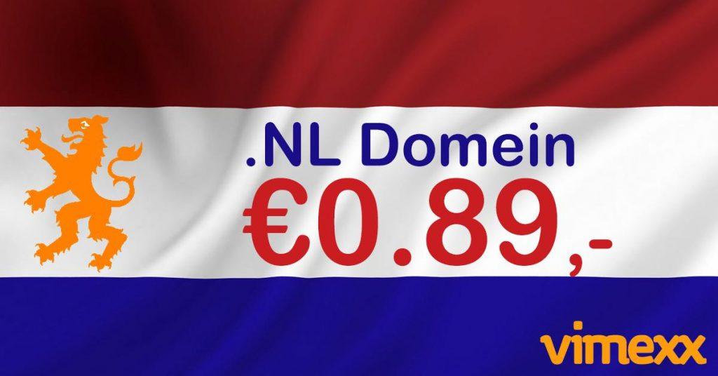 Vimexx .nl domein